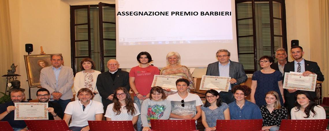 ASSEGNAZIONE PREMIO BARBIERI